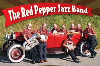 Red Pepper Jazz Band flyer